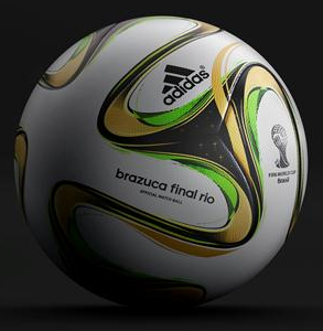 Addidas World Cup soccer ball edited
